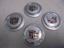 CADILLAC  Set Of 4 RIM WHEEL COVER CENTER CAP HUBCAP BADGE EMBLEMS