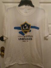 Los Angeles LA Galaxy Unrivaled T Shirt Size Large L 3/31/18 SGA