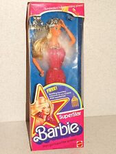 Barbie:  NRFB 1976 Department Store SUPERSTAR BARBIE Doll w/BONUS HAIR COMB!