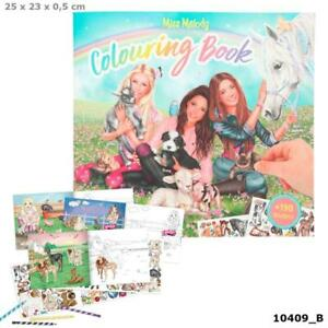 Miss Melody Colouring Book with Animals & Horses TOPModel Depesche