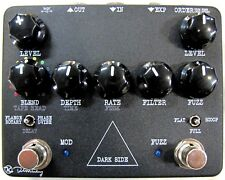 Used Keeley Dark Side Delay Fuzz Phaser Flanger Guitar Effects Pedal