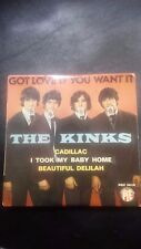 """THE KINKS FRENCH EP. 4 song """" Got Love If You Want It"""""""