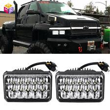 Pair LED Headlights Hi/Low Beam For Chevrolet Kodiak C4500 C5500 vehicles truck