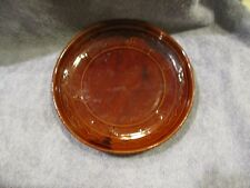 """Marcrest Daisy And Dot Brown 9 1/2"""" Dinner Plate"""