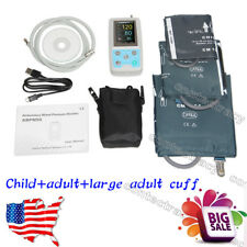 US Automatic Ambulatory Blood Pressure Monitor 24h,child,adult,large adult cuff