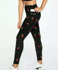 Victoria's Secret PINK Ultimate V High Waist 7/8 Ankle Legging Cherries Cherry M