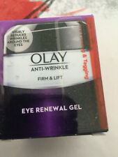 OLAY ANTI-WRINKLE FIRM & LIFT EYE RENEWAL GEL - 15ML - BRAND NEW