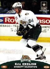 2007-08 Everett Silvertips #9 Eric English