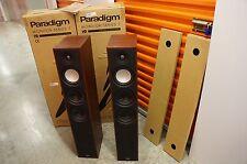 PARADIGM MONITOR 9 V7 Loudspeakers ( PAIR ) W/ Original Boxes.