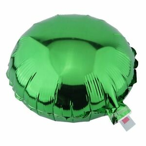 "1-10 10"" 18"" Round Metallic Foil Balloon Helium Wedding Decoration Supplies"