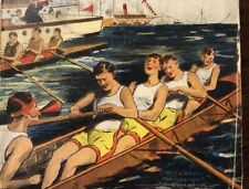 Rowing Crew Jack Lightfoot Trapped Maxwell Stevens 1905