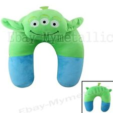 Disney Toy Story Green Men Alien U Shaped Neck Protect Soft Plush Pillow Cushion