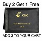 """Vaccination Card Holder 4x3"""" Vaccine Protector CDC Wallet Certificate Protec <br/> 🔥 Buy 2 Get 1 Free🔥Add 3 to your cart🔥US SELLER🔥"""