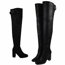 Clubwear Synthetic Over Knee Boots for Women