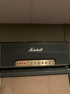 1988 Marshall 50w Reissue Head 1987 Model Rare 1st Year reissue