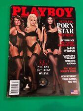 Playboy Magazine March 2002 Porn Star Pictorial Jammeson, Hayes, Lain, Carrera