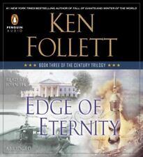 Edge of Eternity by Ken Follett (2014, Abridged) 10 CDs