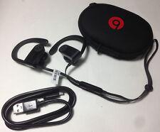 Beats by Dr. Dre Powerbeats3 Black Wireless W/ Case Work Great Free Return Ship