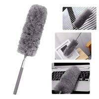Telescopic Duster Extra Long Extending Feather Handle Microfibre Antistatic Tool