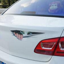 3D Car SUV Door Window Bumper Monster Peeking Decal Graphics Sticker Decoration.