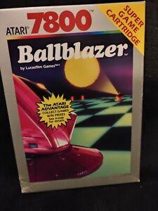 Ballblazer Box and Manual Only Atari 7800