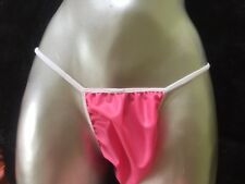 HOT PINK Pure Rubber Latex Sissy Spank Panties Fetish lingerie Men Woman S/M/ L