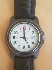 Swiss Army  Watch Mens  Vintage 1990s Water Resistant to 330ft  Running Great
