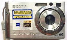 SONY CYBER SHOT DSC W80 DIGITAL CAMERA WITH 3x OPTICAL ZOOM & 7.2 MEGA PIXELS