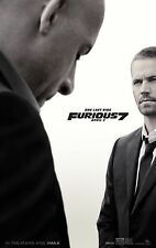 Furious 7 (2015) Movie Poster (24x36) - Paul Walker, Vin Diesel, Statham NEW v2