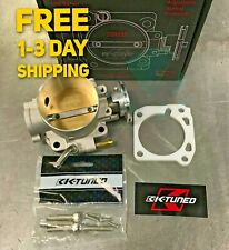 K-Tuned 70mm Throttle body W/Thermal Gasket for Honda Civic, Integra KTD-70B-C10