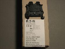 Eaton XBUT4BK DIN Rail Mount Terminal Block Box Of 50  26-10 AWG