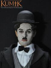 "Male Star Sir Charles Spencer""Charlie""Chaplin Head 1:6KUMIK Figure Accessory Toy"