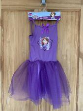 NEW Disney Sofia The First Fancy Dress Up Costume Ballet Tutu Age 3-4