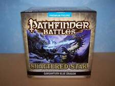 Gargantuan Blue Dragon - Shattered Star Pathfinder Battles D&D Miniature NIB