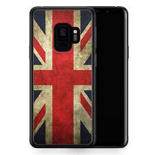 Samsung Galaxy S9 Hülle SILIKON Cover - Großbritannien Great Britain Union Jack