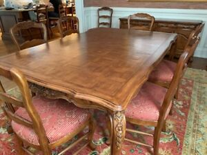 Solid Wood Dining Furniture Sets With 10 Items In Set For Sale In Stock Ebay