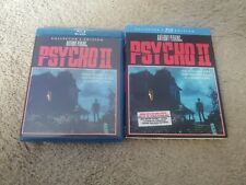 Psycho 2 (Blu-ray, 2013, Collectors Edition) w/ slipcover - Oop Scream Factory