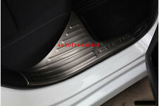 Stainless Steel Inner Door Sill Scuff Plate Cover Fit For Honda Civic 2016 2017