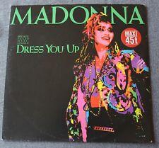 Madonna, dress you up / shoo-bee doo / dress you up, Maxi Vinyl