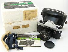 1993! KIEV-19 Russian Nikon F Mount SLR 35mm Camera MC HELIOS-81N H 2/50 Lens