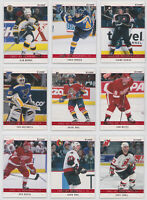 2002-03 BAP Memorabilia RUBY Numbered /200 - Choose From List - NHL Hockey