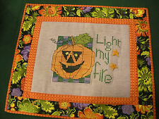 Light My Fire Stitched/Quilted Wallhanging