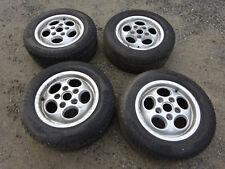 Porsche 911 928 964 Felgen 7X15 ET52,3 4 Stück mit Reifen