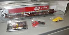 Roco 76227 Taschenwagen Sdgmns der AAE - Auflieger  Arcese _ Ep: V