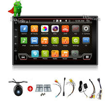 "7"" GPS Navi Android 6.0 Double 2DIN Car Auto Stereo WIFI 3G Bluetooth Radio+ CAM"