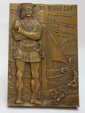 PORTUGUESE DISCOVERIES Explorer DIOGO CÃO Bronze Medal By Vasco Berardo