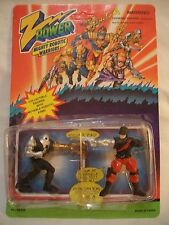VTG EARLY 90'S CHAP MEI Z POWER MIGHTY ROBOTIC WARRIORS NIB UNPUNCHED CARD CLEAN