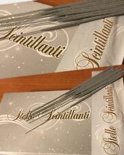 200 Candeline scintillanti 17CM candele scintille stelline compleanno festa