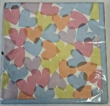 Paper napkins Hearts  - Table Fun