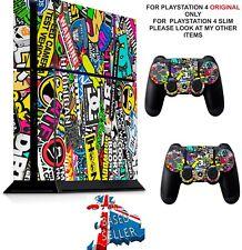STICKER BOMB ps4 Skin Decals Playstation 4 wrap vinyl sticker stickers